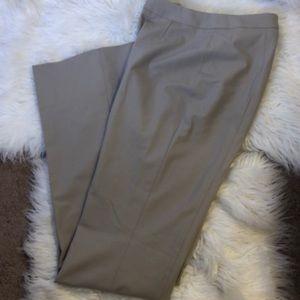 ESCADA BEIGE FLAT FRONT DRESS PANTS